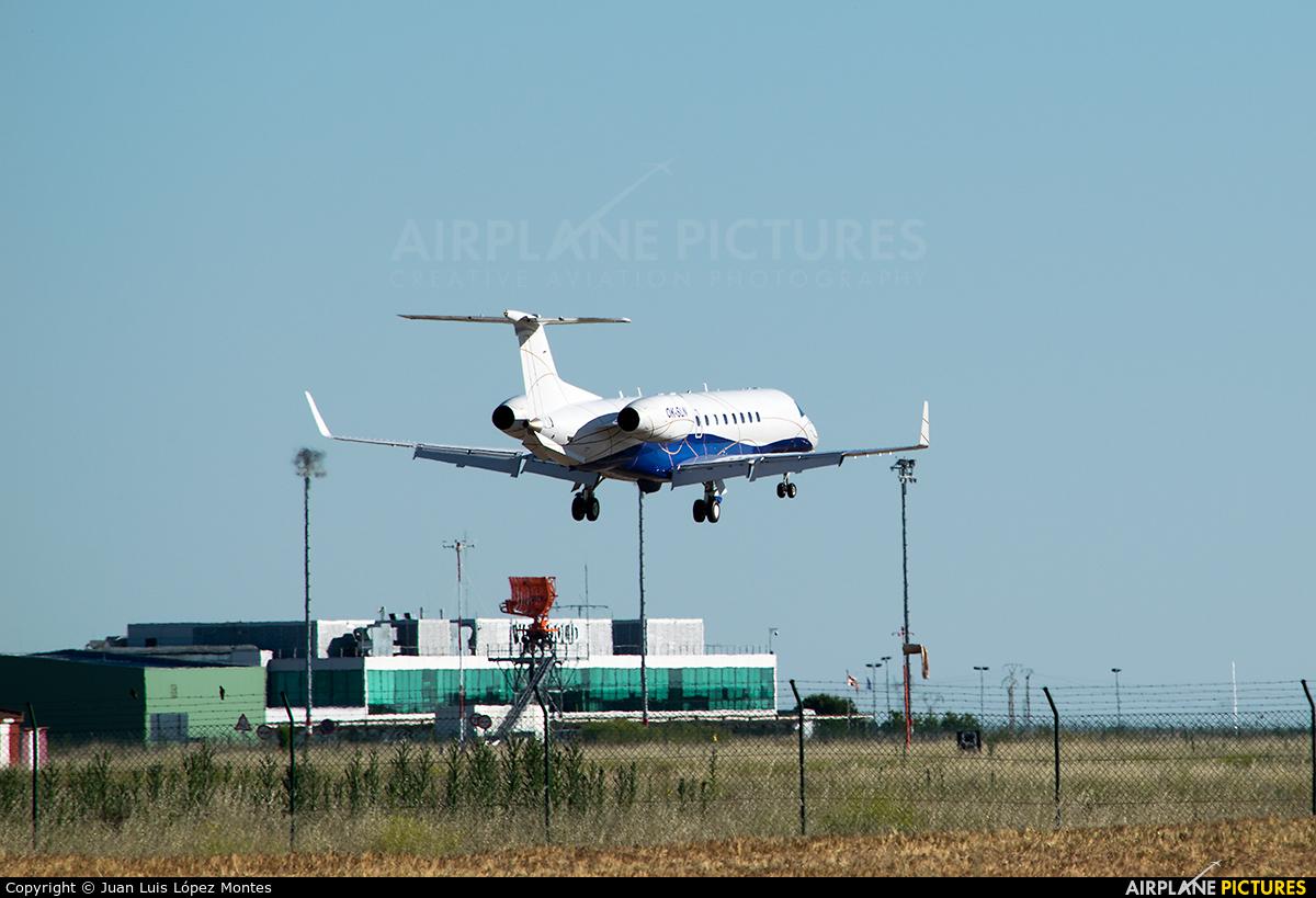 ABS Jets OK-SLN aircraft at Valladolid - Villanubla