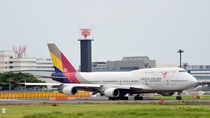 HL7423 - Asiana Airlines Boeing 747-400
