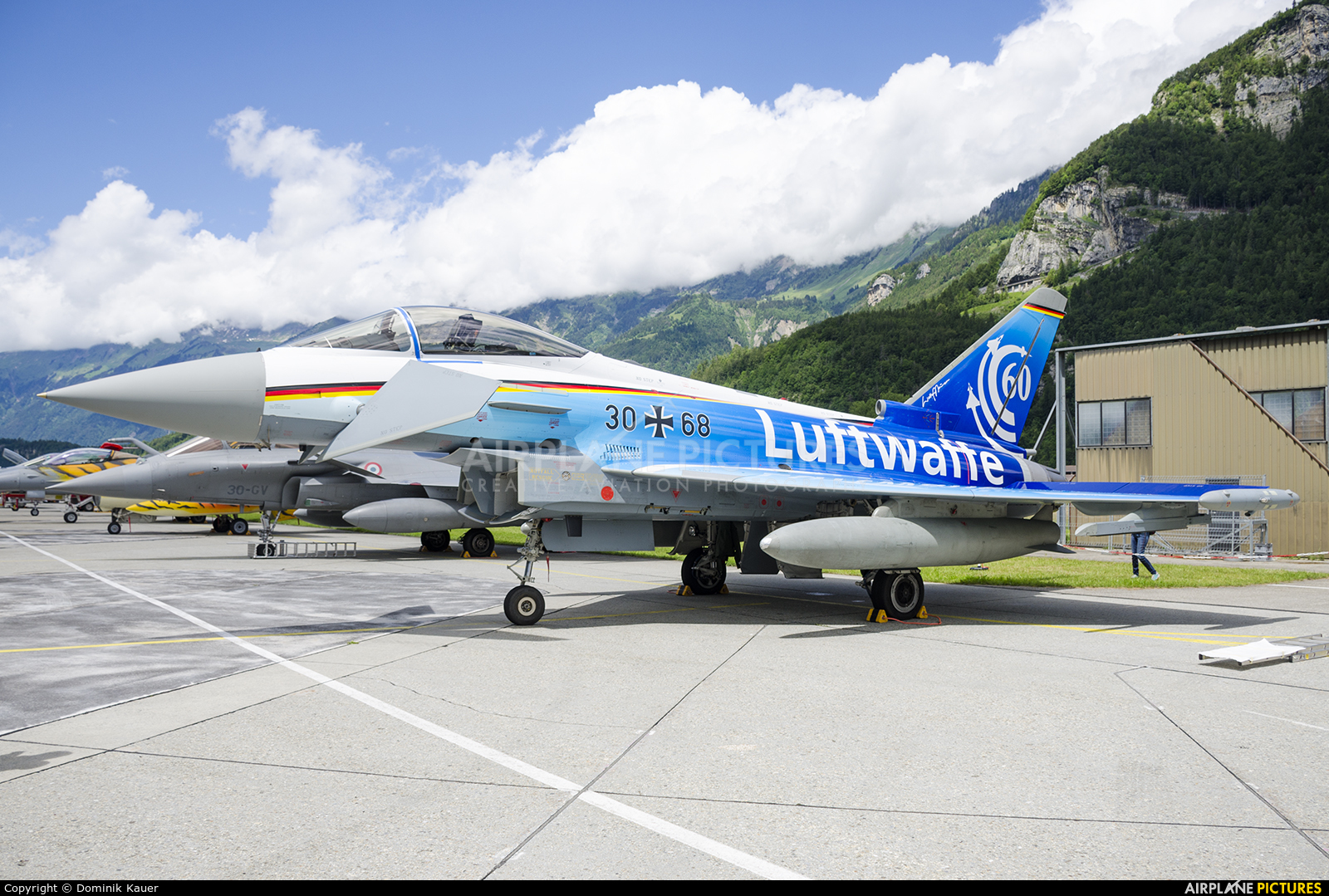 Germany - Air Force 30+68 aircraft at Meiringen