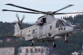 ZH861 - Royal Navy Agusta Westland AW101 111 Merlin HM.1