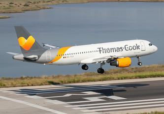 OO-TCV - Thomas Cook Belgium Airbus A320