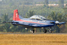 India - Air Force Pilatus PC-7 I & II P149 at Yelahanka AFB airport