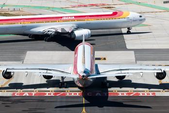 EC-IZY - Iberia Airbus A340-600