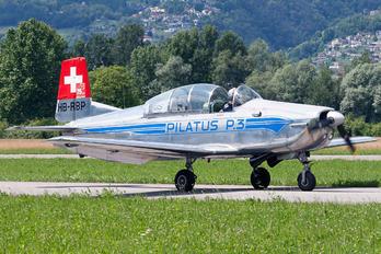 HB-RBP - Private Pilatus P-3