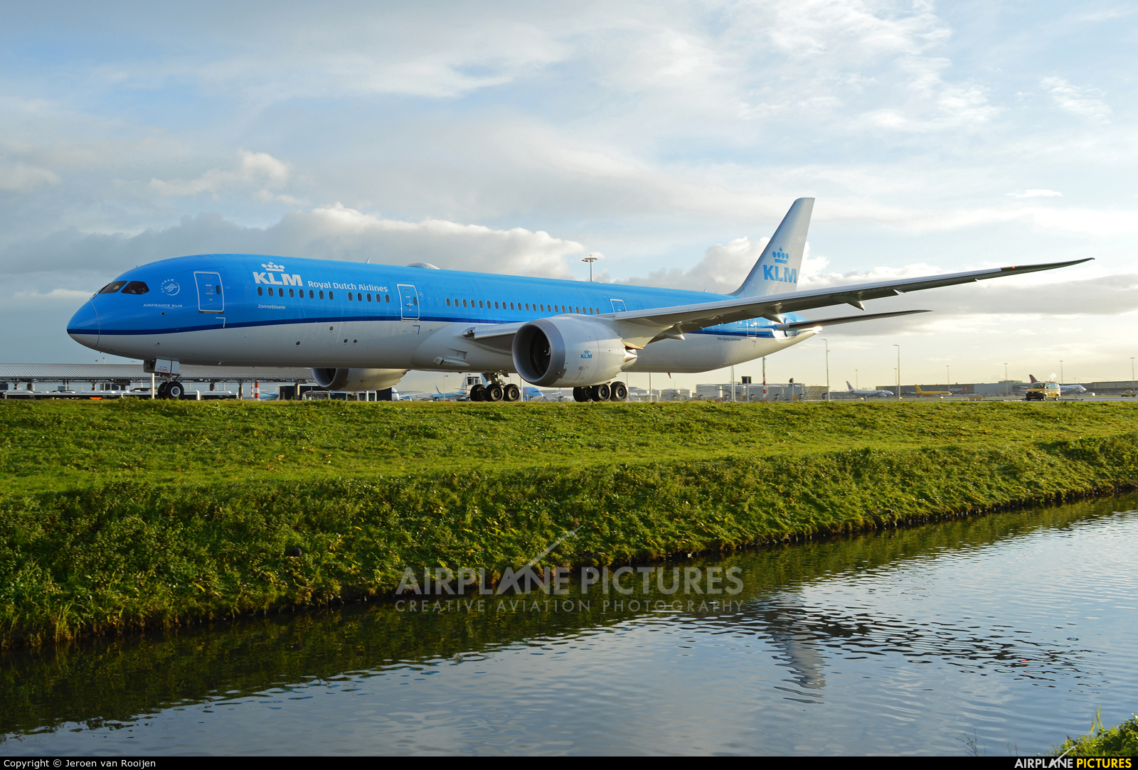 KLM PH-BHC aircraft at Amsterdam - Schiphol