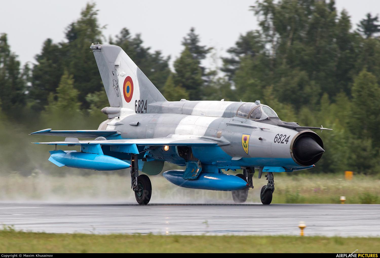 Romania - Air Force 6824 aircraft at Kuopio Rissala