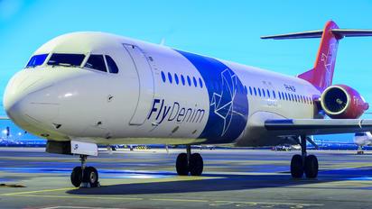 PH-MJP - Denim Air Fokker 100