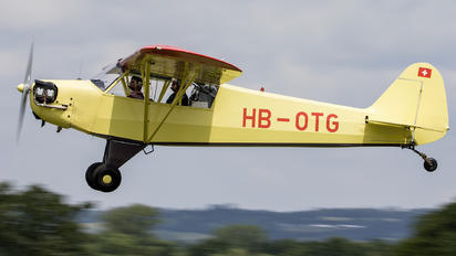 HB-OTG - Private Piper J3 Cub