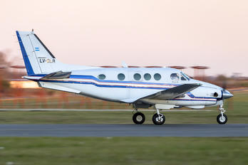 LV-CLR - Private Beechcraft 90 King Air