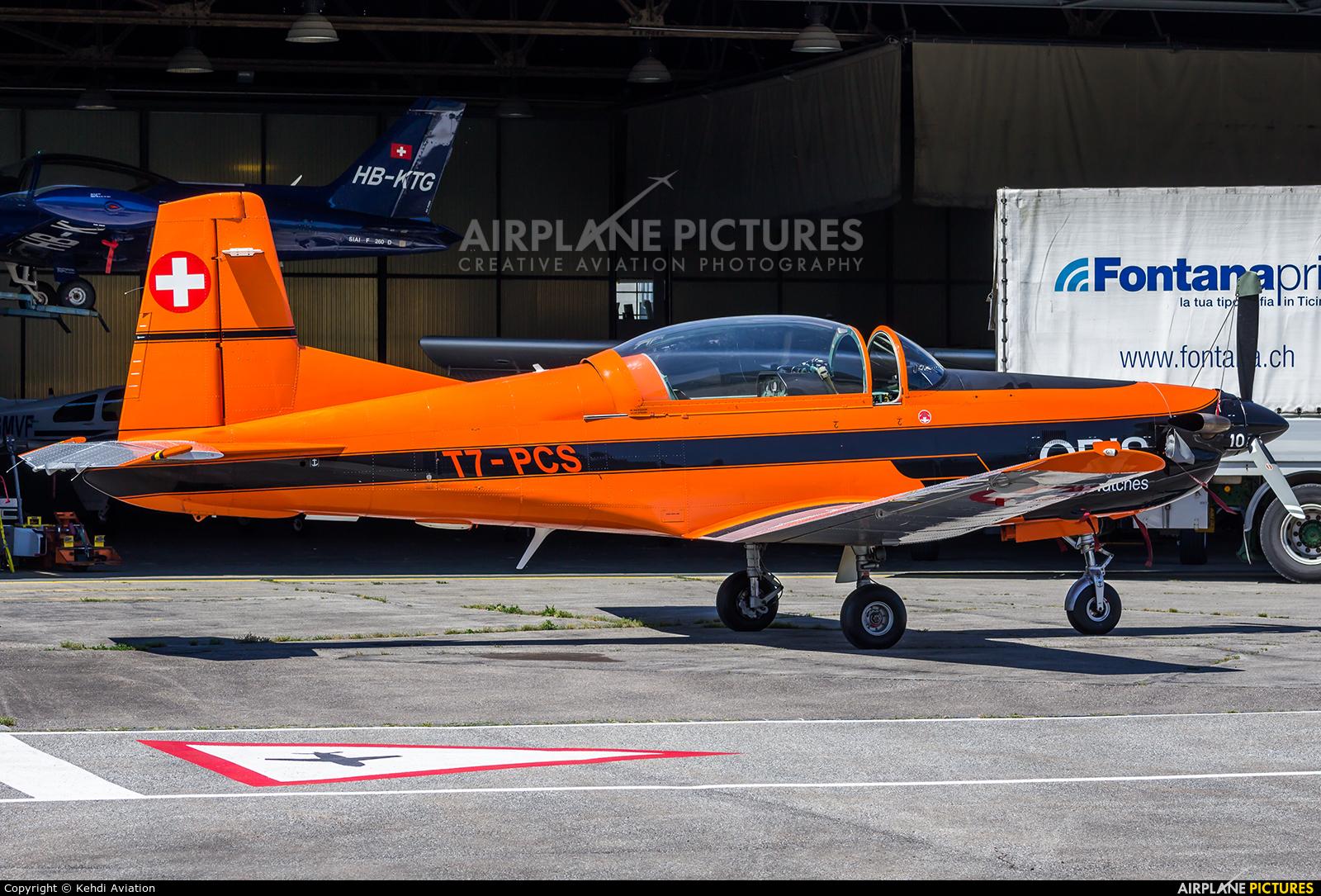 Private T7-PCS aircraft at Locarno