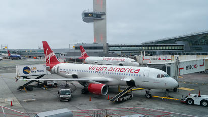N843VA - Virgin America Airbus A320