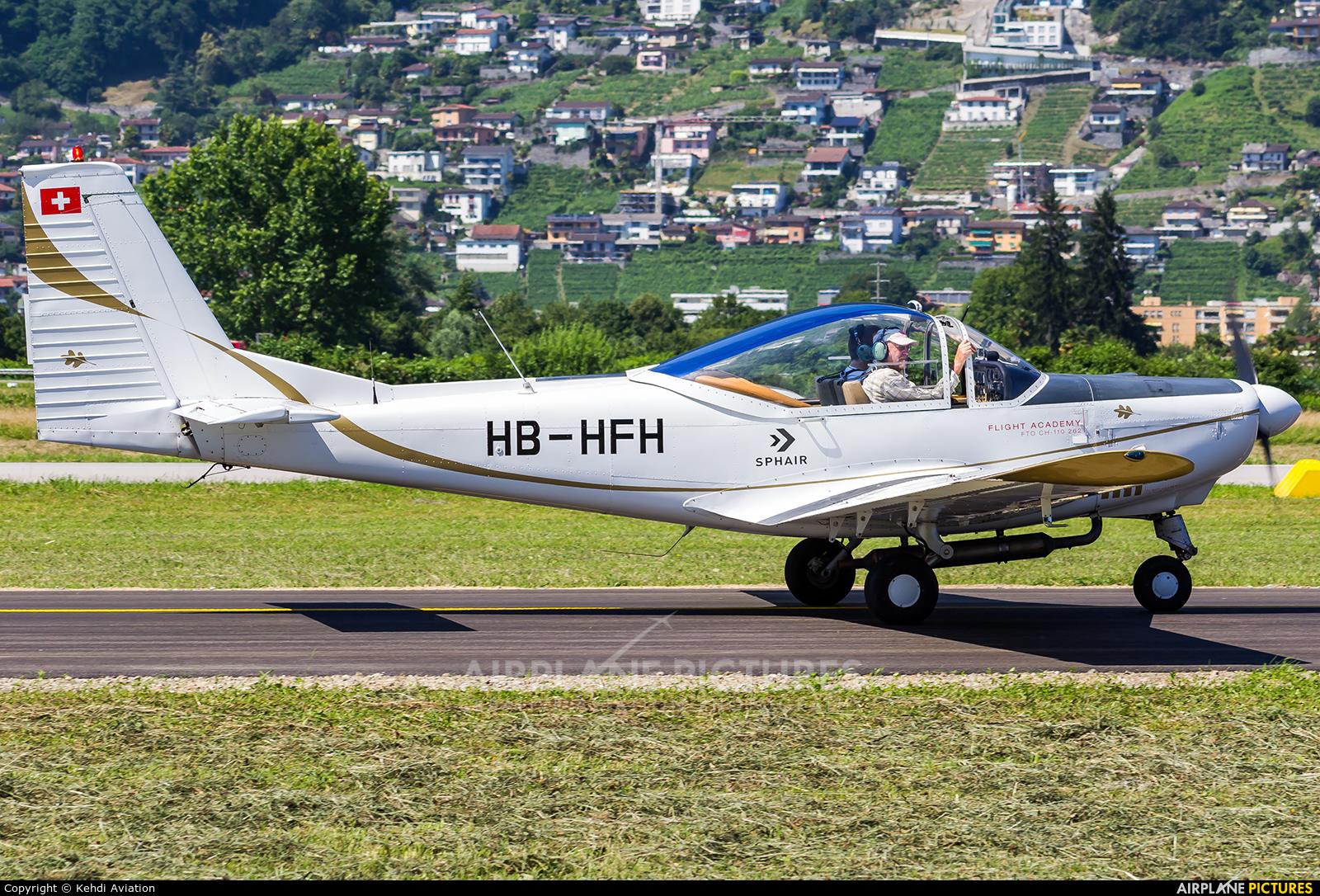 Private HB-HFH aircraft at Locarno