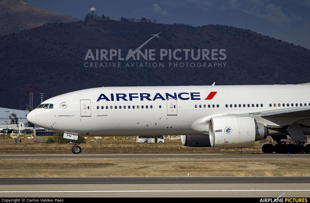 Air France F-GSPN aircraft at Santiago de Chile - Arturo Merino Benítez Intl