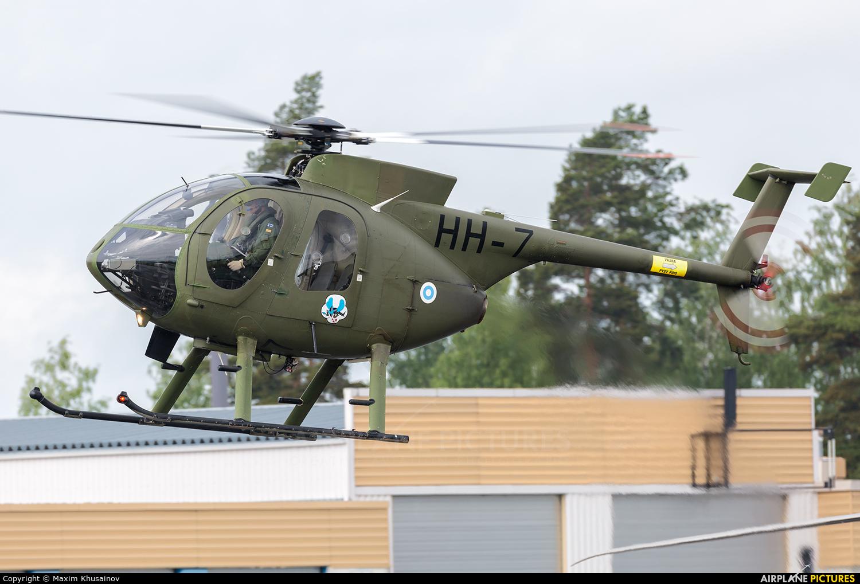 Finland - Army HH-7 aircraft at Kuopio Rissala