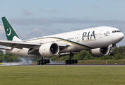 AP-BGZ - PIA - Pakistan International Airlines Boeing 777-200LR aircraft