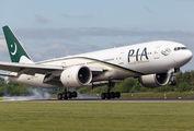 AP-BGZ - PIA - Pakistan International Airlines Boeing 777-200LR aircraft