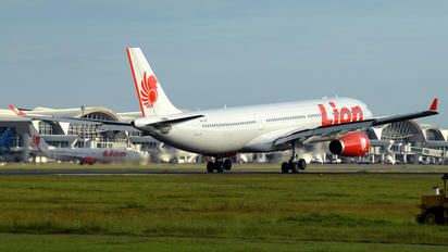 PK-LEF - Lion Airlines Airbus A330-300
