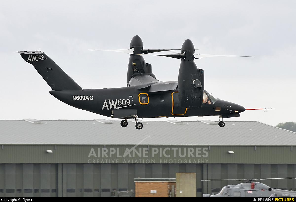 Bell/Agusta Aerospace N609AG aircraft at Yeovilton