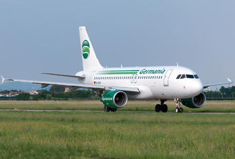 D-ASTA - Germania Airbus A319