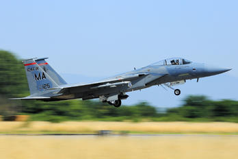 85-0125 - USA - Air National Guard McDonnell Douglas F-15C Eagle