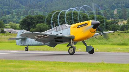 G-AWHF - Private Hispano Aviación HA-1112 Buchon