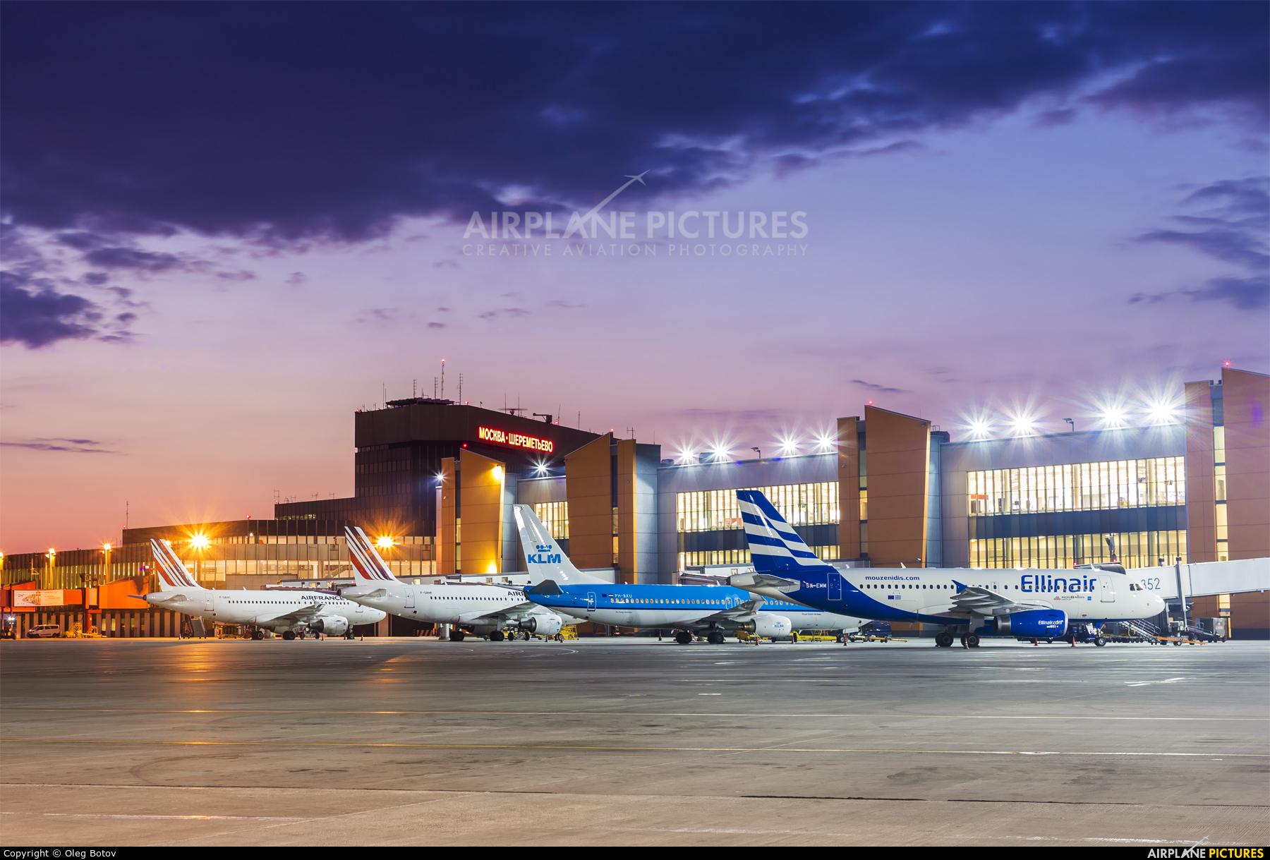 Ellinair SX-EMM aircraft at Moscow - Sheremetyevo