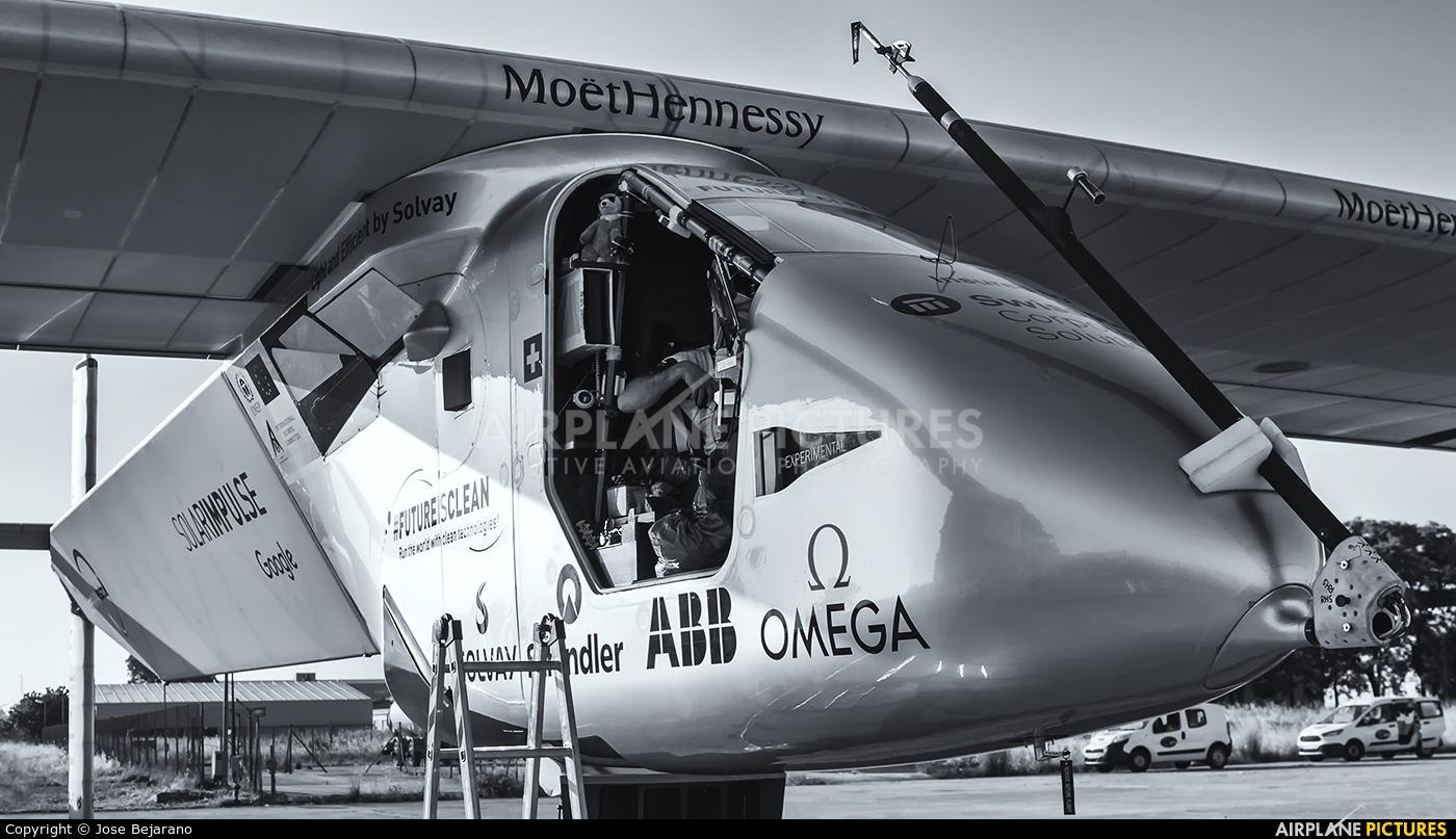 Solar Impulse HB-SIB aircraft at Seville - San Pablo