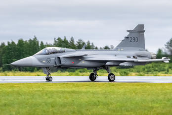 290 - Sweden - Air Force SAAB JAS 39C Gripen