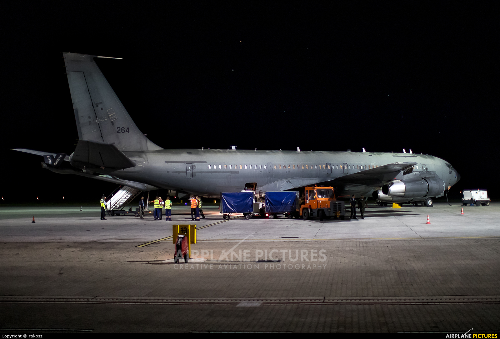 Israel - Defence Force 264 aircraft at Katowice - Pyrzowice
