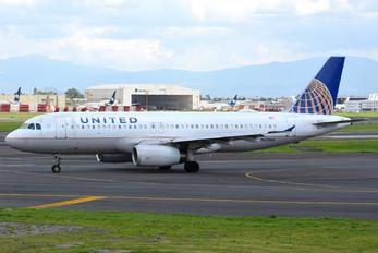 N410UA - United Airlines Airbus A320