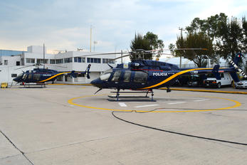 XC-DMX - Mexico - Police Bell 407 GT