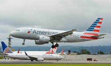 N725UW - American Airlines Airbus A319