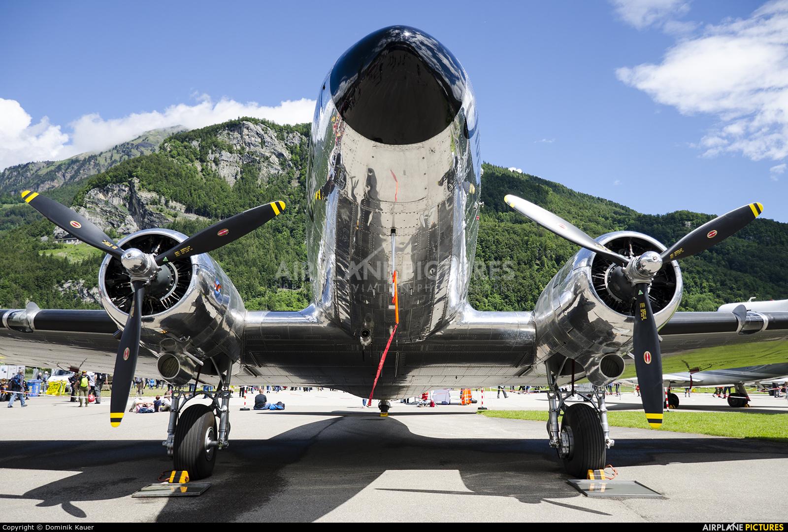 Verein DC-3 N431HM aircraft at Meiringen