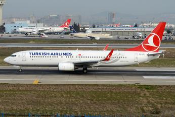 TC-JFJ - Turkish Airlines Boeing 737-800