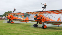 N74189 - Breitling Wingwalkers Boeing Stearman, Kaydet (all models) aircraft