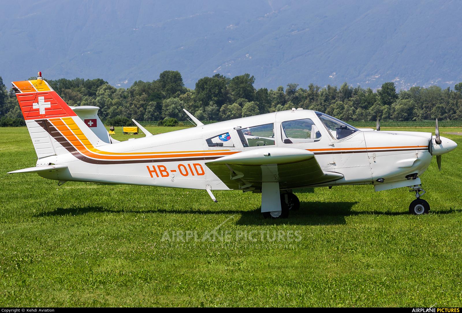 Private HB-OID aircraft at Locarno