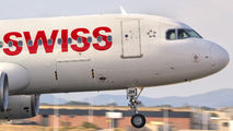 HB-IJH - Swiss Airbus A320 aircraft
