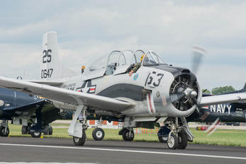 NX757K - Private North American T-28C Trojan