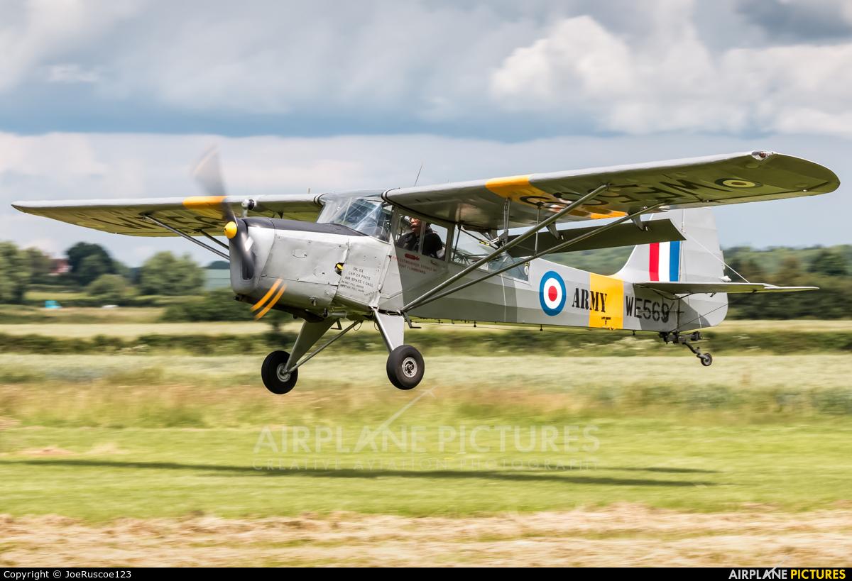 Private G-ASAJ aircraft at Defford - Croft farm