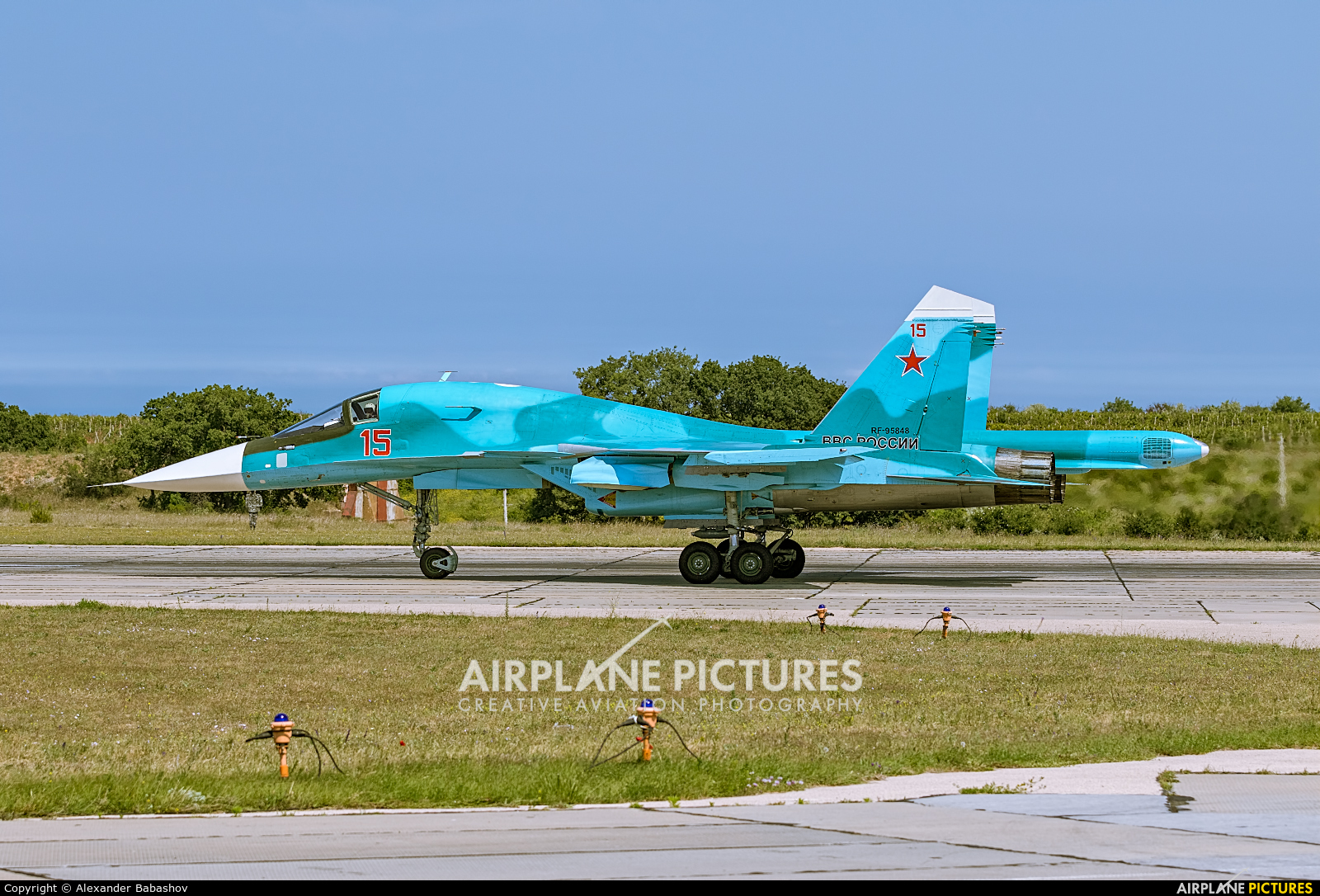 Russia - Air Force Sukhoi Su-34 RF-95848