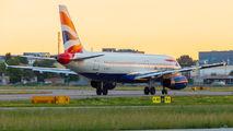 G-EUYJ - British Airways Airbus A320 aircraft