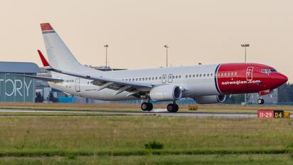 EI-FJL - Norwegian Air Shuttle Boeing 737-800