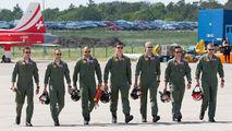 EDDB - Switzerland - Air Force:  Patrouille de Suisse - Aviation Glamour - People, Pilot aircraft