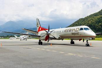 HB-IZJ - Etihad Regional - Darwin Airlines SAAB 2000