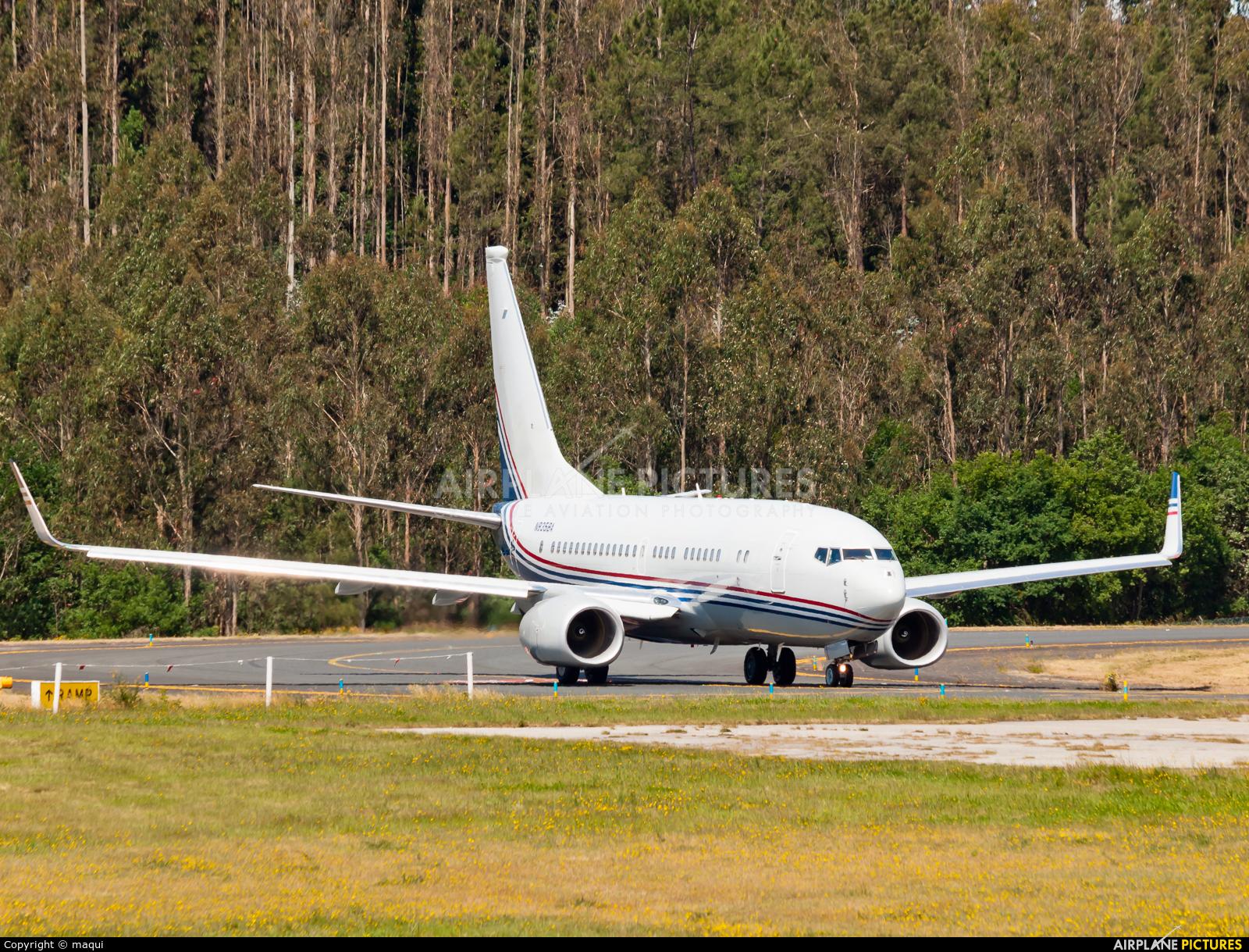 Boeing Company N835BA aircraft at Santiago de Compostela