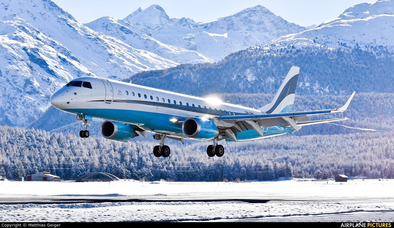 Dalia Air CN-SHS aircraft at Samedan - Engadin