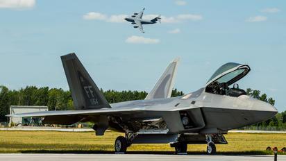 AF08169 - USA - Air Force Lockheed Martin F-22A Raptor