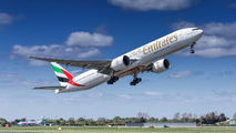 A6-EPK - Emirates Airlines Boeing 777-300ER aircraft