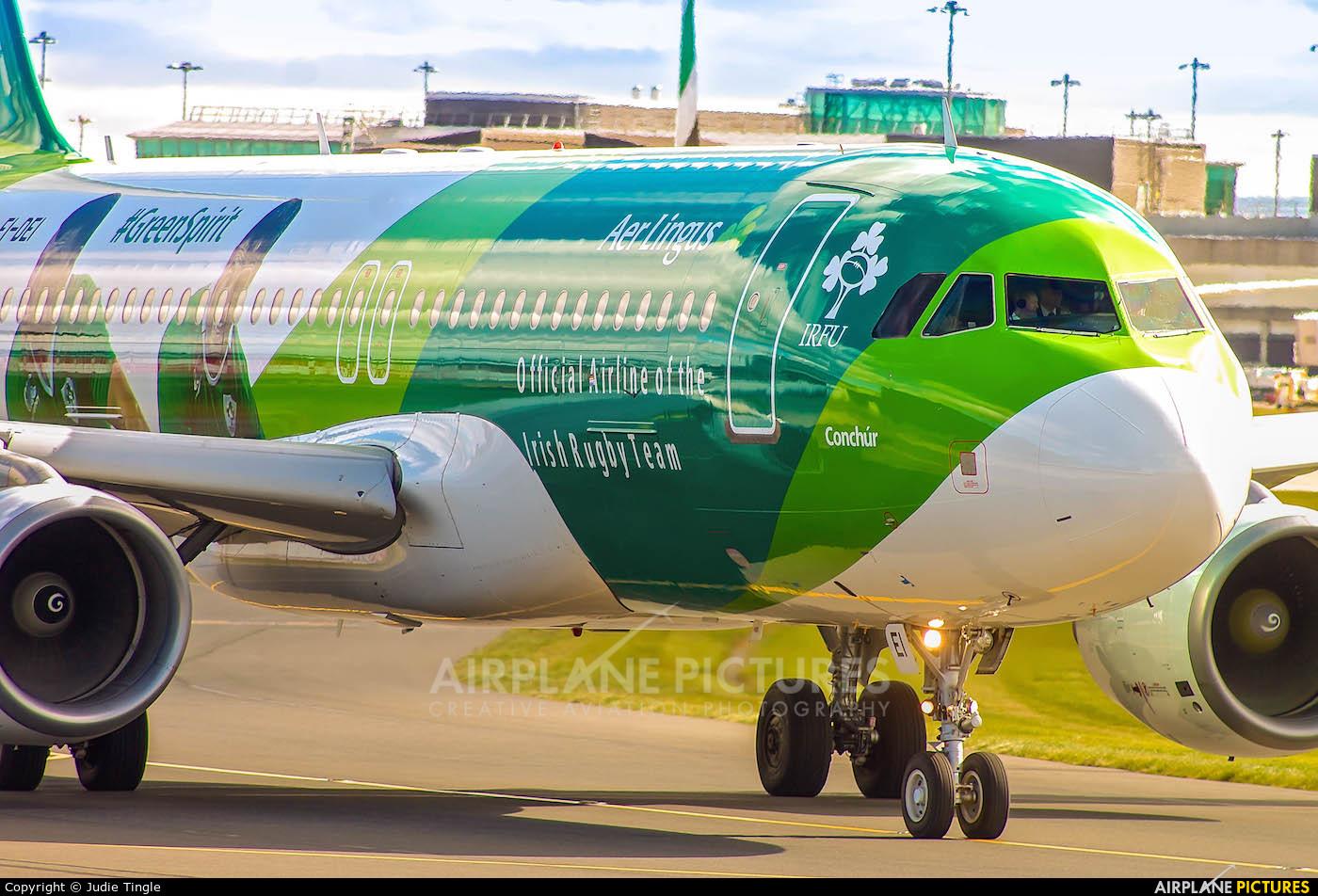 Aer Lingus EI-DEI aircraft at Manchester