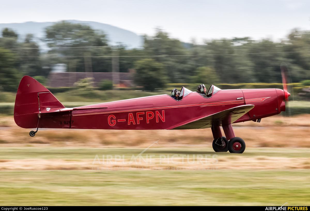 Private G-AFPN aircraft at Shobdon Airfield